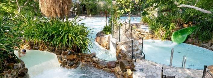 Subtropisch zwembad Heijderbos