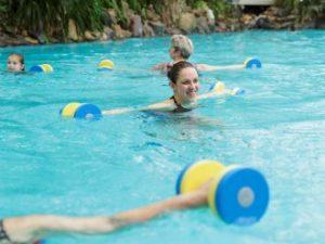Activiteiten subtropisch zwembad Parc Sandur
