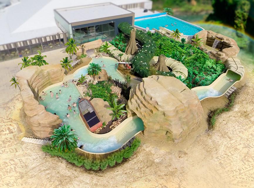 Subtropisch zwembad Friesland buitenbad